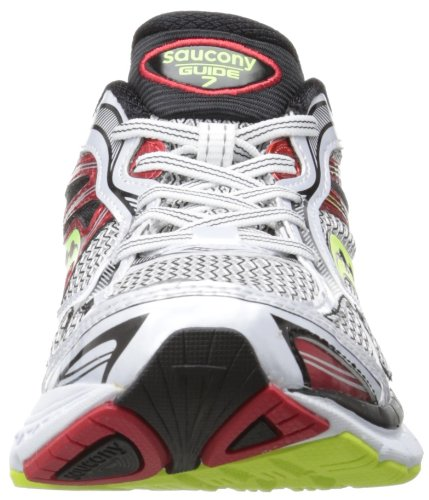 SAUCONY Guide 7 Zapatilla de Running Caballero White / Red / Citron
