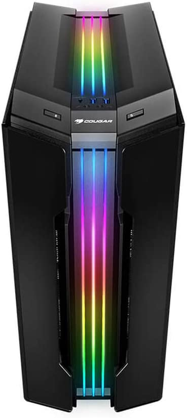 Cougar RGB Glass-Wing Mid Tower Gaming Case con Trelux Dynamic RGB Lighting Cases Gemini T: Amazon.es: Informática