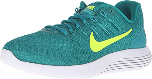- Nike Women's Lunarglide 8 Rio Teal/Volt/Clr Jade/Mid TRQ Running Shoe 6.5 Women US