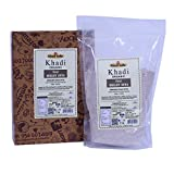 Khadi Organic Pure Ragi Atta (Finger Millet Flour) 400 GM - 100% Natural, Gluten-Free, Healthy Organic Food High-Fibre Flour, Controls Weight Gain, Excellent for Diabetics
