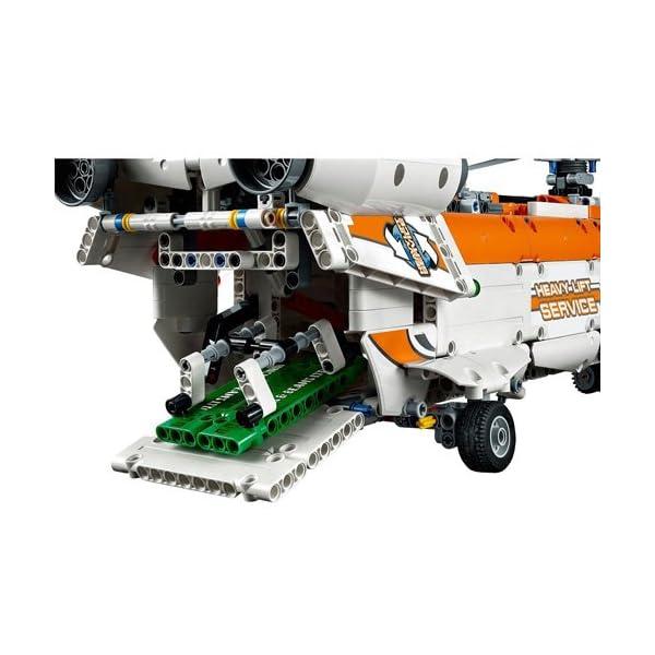 LEGO Technic Elicottero da Carico Costruzioni Gioco Bambina Giocattolo, Multicolore, 42052 4 spesavip