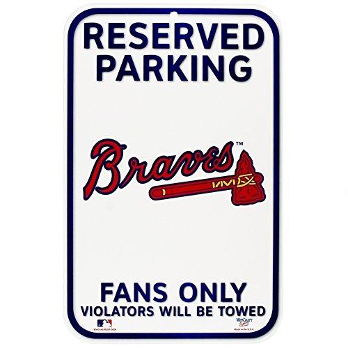 Atlanta Braves - Reserved Parking Sign