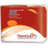 Tranquility ATN All-Through-the-Night Disposable Briefs - Medium - - Case of 96