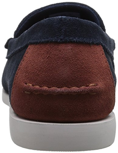 Lacoste Men's Navire Penny 216 1 Slip-On Loafer, Navy, 9.5 M US by Lacoste (Image #2)