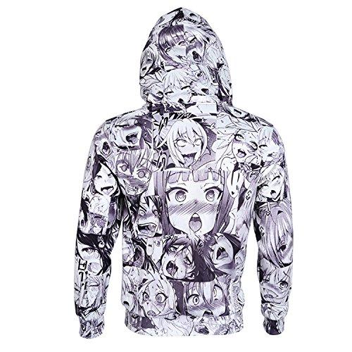 King Fury Hoodies Hoodies Sweatshirt Autumn Winter Mens Long Sleeve Pullovers Hip Hop 3D Print Tracksuit