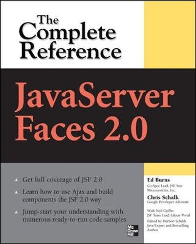 JavaServer Faces 2.0, The Complete Reference (1 Tool Programming Standard User)