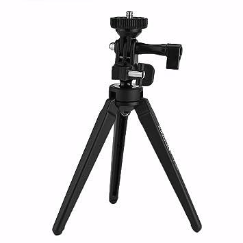 Mini trípode de mesa para cámara deportes cámara teléfonos ...