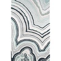 Novogratz Delmar Collection Agate Area Rug, 23 x 80 Runner, Blue