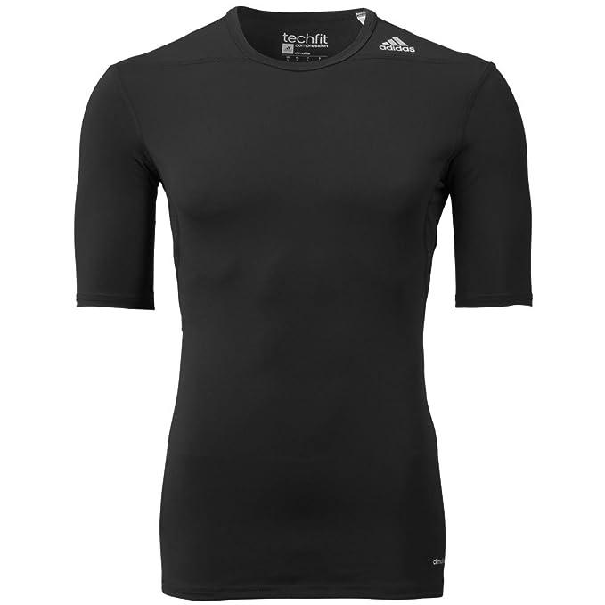 adidas Techfit Base Long Sleeve Men Black