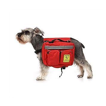YQQ Mochila para Perros Multipropósito Bolsa De Bocadillos Mochila Portátil para Perros Mochila De Salida Mochila del Perro Paquete De Mascotas: Amazon.es: ...
