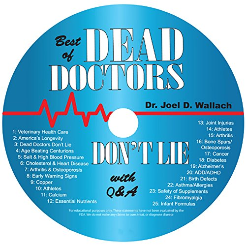 Best of Dead Doctor's Don't Lie Audio CD by Dr Joel Wallach