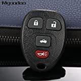 Daphot-Store - 4 Button Remote Car Key Fob Shell Case 315Mhz For Chevrolet Malibu Cobalt Buick Allure LaCrosse KOBGT04A Replacement Keyless Key