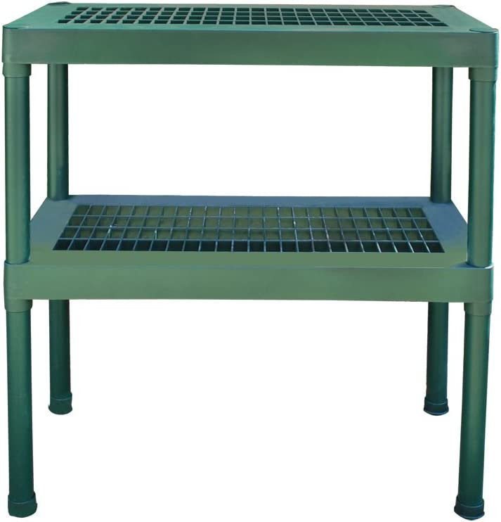 Rion 2-Tier Greenhouse Bench/Work Bench