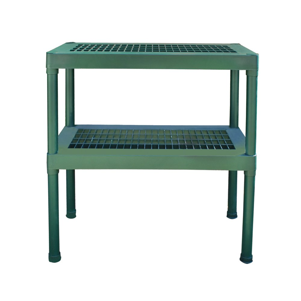 Rion 2 Tier Green Staging Bench Palram 702427 8000RI99930