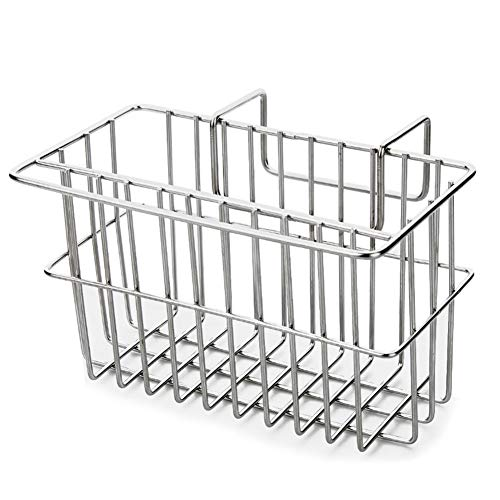 INHDBOX Kitchen Sponge Holder Sink Rack,Brush Dishwashing Liquid Drainer Rack -Stainless Steel by INHDBOX