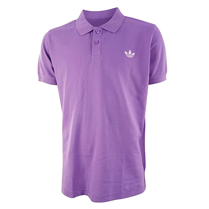 adidas Shirtpolo - Polo para Hombre, tamaño S, Color Violeta ...