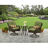 3-Pc Better Homes and Gardens Azalea Ridge Outdoor Bistro Set