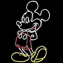 Disney Mickey Mouse Indoor/Outdoor Christmas Freestanding...