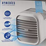 Homedics Portable Air Cooler | Clean Tank Technology, Small Cooling Unit, Quiet | Energy Saving, Environmentally Friendly, Cooling System for Dorm, Office, Bedroom, Apartment | My CHILL