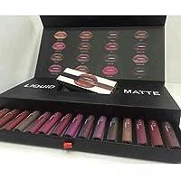 Vasyle 16 Couleur à lèvres de kit 16 de couleur Mat NE Colle pas Tasse dans un coffret cadeau