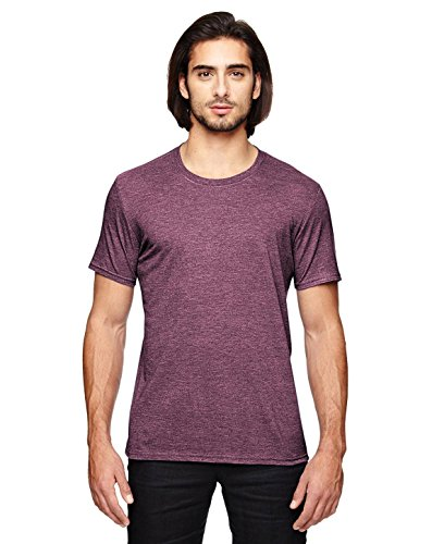 Anvil Short Sleeve T-shirt - Anvil. Heather Maroon. XL. 6750. 00191675005510