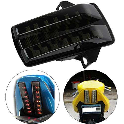 - MZS Tail Light Turn Signal LED Integrated Blinker for Suzuki SV650 2003-2008/ SV1000 2003-2007 Smoke