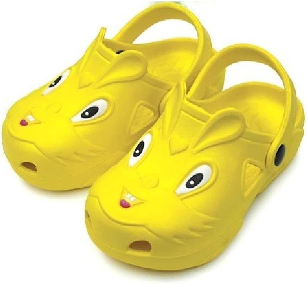 DINY Home /& Style Childrens All-Weather Novelty Animal Clogs Toddler Thru Little Kid Sizes