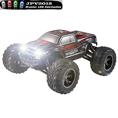 Genuine JPV2015 Product - 2 LED 2W RC LIGHT KIT - Fits Hosim 1/12 Scale Electric RC Car - Premium Quality - Handmade in USA exclusively by JPV2015