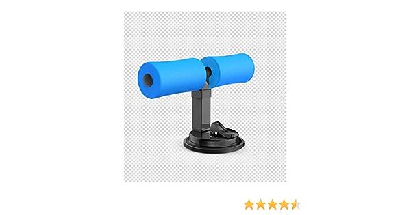 Soporte de Abdominales con Ventosa SitUp Maquina de Fitness y Gimnasio en casa - Azul