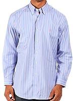 Ralph Lauren - Chemise rayée habillée - lilas/bleu/rose/blanc - homme