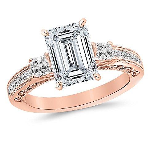 0.75 Ct Emerald Cut Diamond - 7