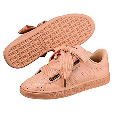 PUMA Women's Basket Heart Ath Lux WN's, Dusty Coral, 6 US