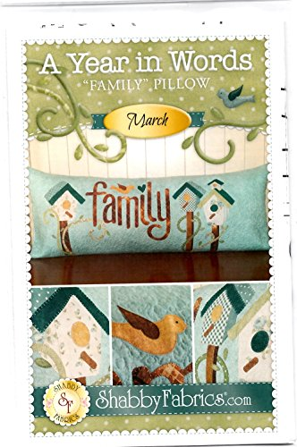 - A Year in Words Family March Birdhouse Pattern by Shabby Fabrics 15