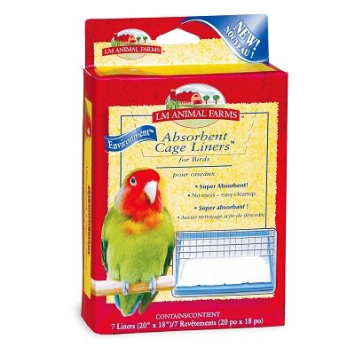 L/M Animal Farms BLM02914 Absorbent Bird Cage Liner