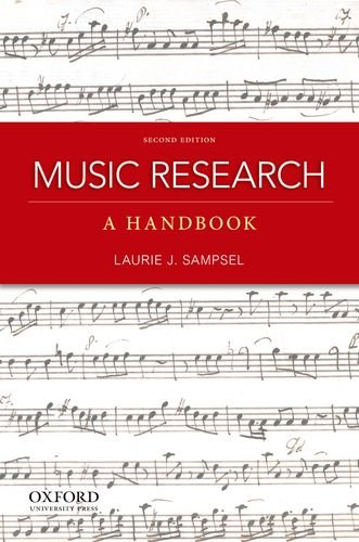 - Music Research: A Handbook