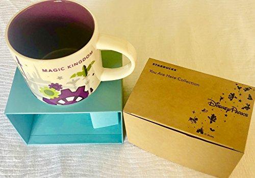 2018 Disney Magic Kingdom Version 3 You Are Here (YAH) Starbucks Mug. NWT (Starbucks Mugs Orlando)