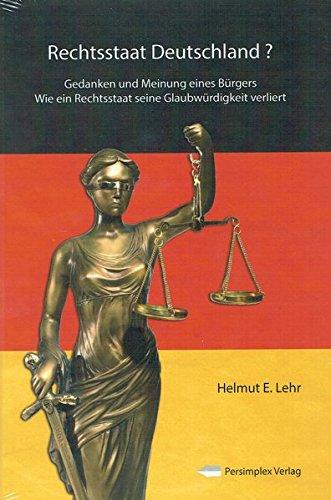 Rechtsstaat Deutschland