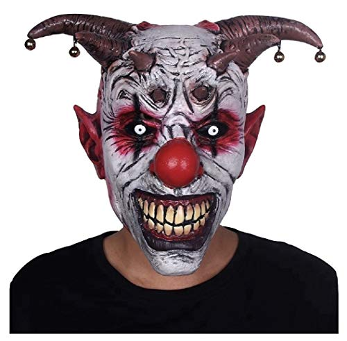 Evil Clown Mask – Evil Clown Mask with