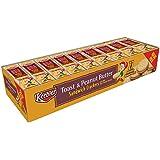 Keebler Peanut Butter Cracker Pack Toasted, 37.26 Ounce
