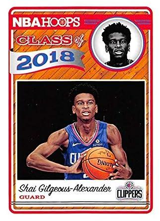 2018-19 NBA Hoops Class of 2018 11 Shai Gilgeous-Alexander Los Angeles 4a3d4d26d