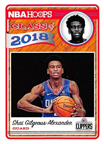 83a9c097b05 Amazon.com: Shai Gilgeous-Alexander 2018-19 Panini Hoops Class of 2018#11  NM-MT Clippers Basketball NBA: Collectibles & Fine Art