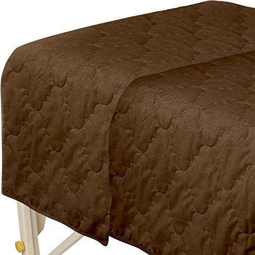 For Pro Premium Quilted Blanket Chocolate Massage Linen