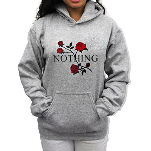 Cool Hoodie Sweatshirt Floral, Keepfit Casual Printed Hooded Pullover With Pocket for Teen Girls