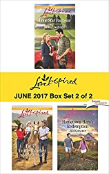 Harlequin Love Inspired June 2017 - Box Set 2 of 2: Lone Star Bachelor\Falling for the Rancher\Hometown Hero's Redemption