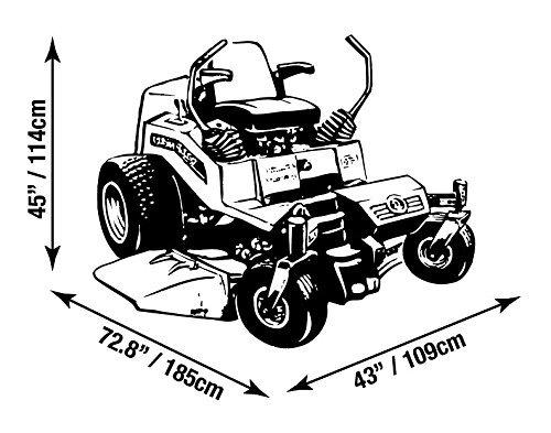 Amazon.com: Raider 02-7730 SX-Series Weather and UV-Resistant Zero-Turn Lawn Tractor Storage Cover: Automotive
