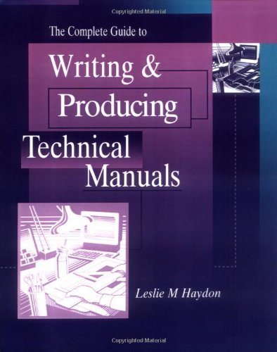 Download The Complete Guide to Writing & Producing Technical Manuals Pdf