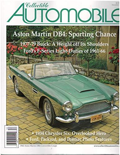 Collectible Automobile Magazine December 2019