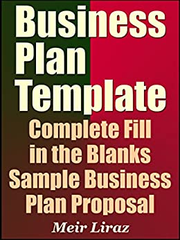 Amazon.com: Business Plan Template: Complete Fill in the Blanks ...