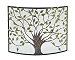 "Deco 79 44543 Metal Fire Screen 39""W, 33""H - by UMA Enterprises"