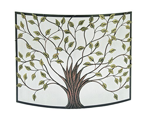 Best Prices! Deco 79 44543 Metal Fire Screen 39 W, 33 H -